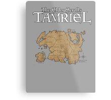 The Elder Scrolls Map Metal Print