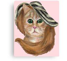 Felina Del Rey Canvas Print