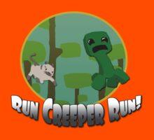 Run Creeper Run! Kids Clothes