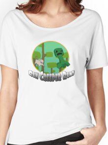 Run Creeper Run! Women's Relaxed Fit T-Shirt