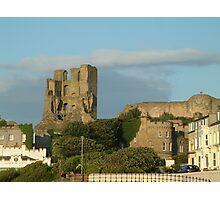 Scarborough Castle UK Photographic Print