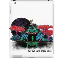 That map ain't gonna help... iPad Case/Skin