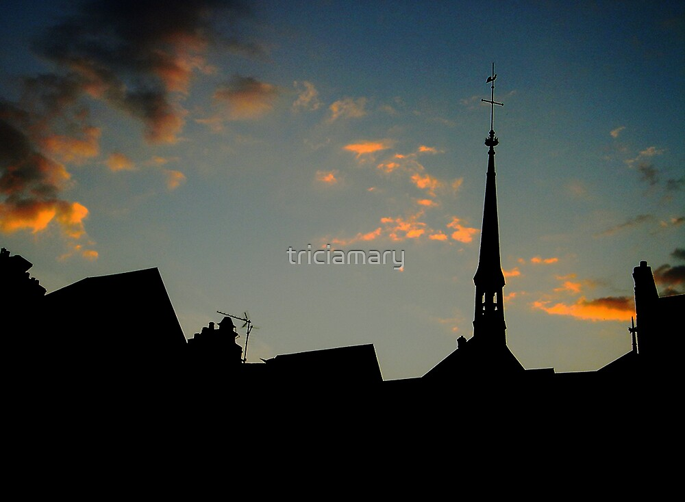 Honfleur silhouette by triciamary