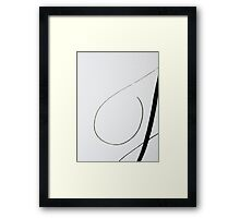 Paper and Ink 3 Framed Print
