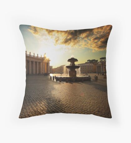 St Peters Square Throw Pillow
