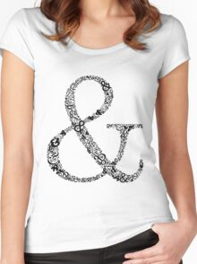 Ampersand LOVE Women's Fitted Scoop T-Shirt