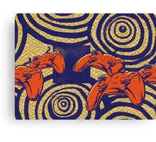 Gamer Batik Canvas Print