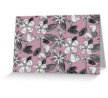 Dusky Floral Greeting Card