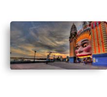 Icon -  Luna Park , Sydney - The HDR Experience Canvas Print