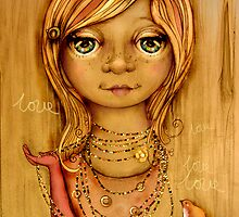 Love Beads by Karin  Taylor