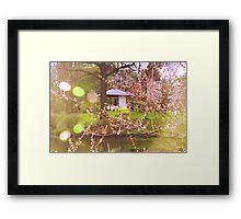 Here I, Spring, Am Framed Print