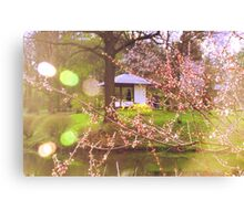 Here I, Spring, Am Canvas Print