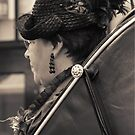 A well dressed lady by patjila