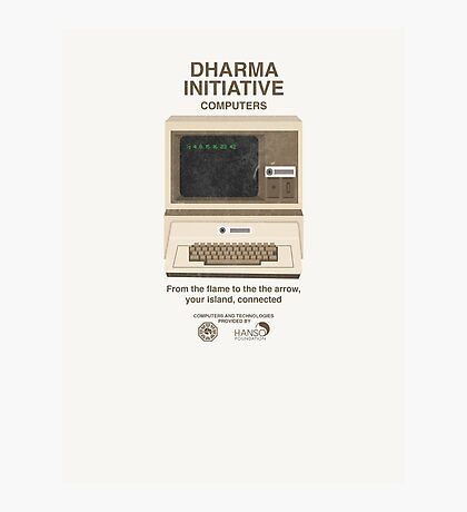Vintage Dharma Initiative Photographic Print
