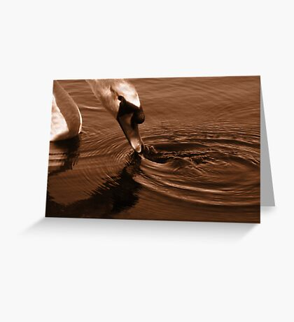 Ripple Greeting Card