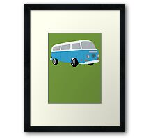 LOST Dharma Bus Framed Print