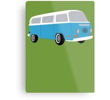 LOST Dharma Bus Metal Print
