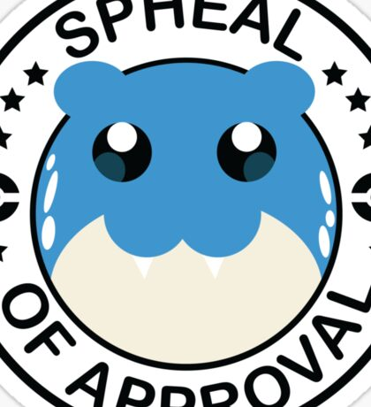 Spheal of Approval Sticker