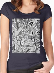 Music II Women's Fitted Scoop T-Shirt