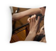 For the love of the cello Throw Pillow