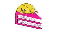 Tree Trunks Adventure Time Photographic Print