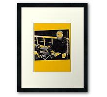 Churchill- BBC speech....T-shirt etc..... Framed Print