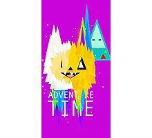Adventure time lego Photographic Print