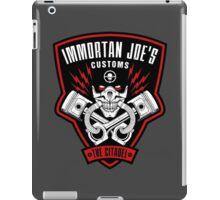 Immortan Joe's Customs iPad Case/Skin