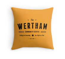 Misfits Wertham Community Centre Throw Pillow