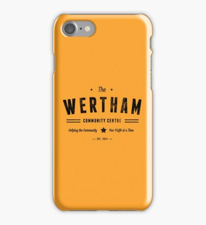 Misfits Wertham Community Centre iPhone Case/Skin