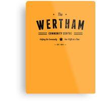 Misfits Wertham Community Centre Metal Print