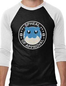 Spheal of Approval - White Men's Baseball ¾ T-Shirt