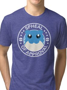 Pokemon Spheal of Approval - White Tri-blend T-Shirt