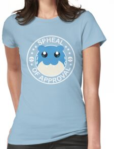 Spheal of Approval - White Womens Fitted T-Shirt