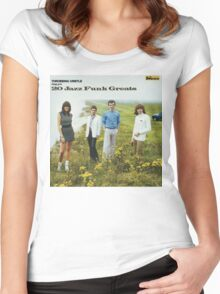 THROBBING GRISTLE - 20 JAZZ FUNK GREATS Women's Fitted Scoop T-Shirt