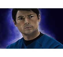 Bones McCoy Photographic Print