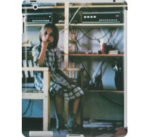 THROBBING GRISTLE - D.O.A. - THE THIRD AND FINAL REPORT iPad Case/Skin
