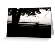 Ghosts of the Stumps Greeting Card