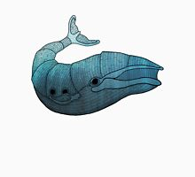 Barn Wood Whale Unisex T-Shirt