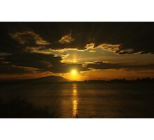 Last Ray Of Sun Photographic Print