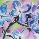 Lilacs! by Leslie Gustafson