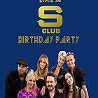 S Club 7 Birthday Card/Party Invitation by Joe Bolingbroke