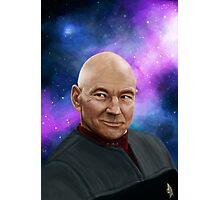Captain Picard Photographic Print