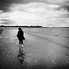 In this moment, the wind took my cares and gave them to the sea. by clickinhistory