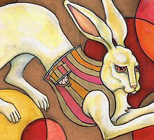 White Rabbit by Lynnette Shelley