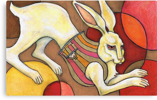 White Rabbit by Lynnette Shelley