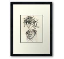 Witch Doctor / Portrait of Tara Framed Print