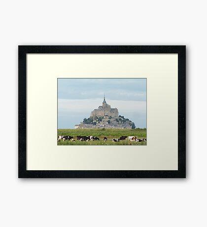 Le Mont-Saint-Michel Framed Print