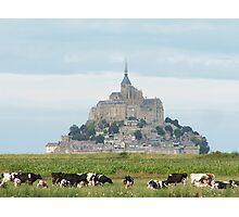 Le Mont-Saint-Michel Photographic Print