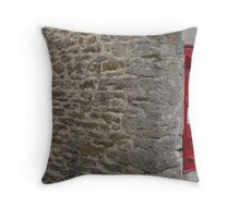 The Postbox in the village Throw Pillow